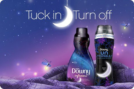 Tuck in Turn off. Experience scent-y soothing softness.