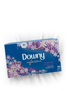 Downy® Infusions™ Lavender Serenity Sheets